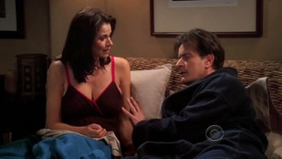 Two and a Half Men 06x15 : I'd Like to Start With the Cat- Seriesaddict